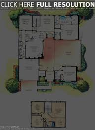 a gorgeous home split by covered garden atrium interior house