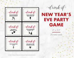 printable drinking games for adults new years eve party game drink if game printable new