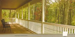 Front Porch Banisters Exterior Fabulous Image Of Front Porch Decoration Using Solid