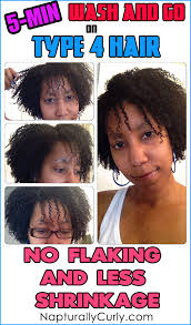 Wash And Go Styles For Transitioning Hair - maximum hydration method results on type 4 hair