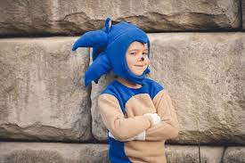 Sonic Halloween Costume Handmade Halloween Sonic Hedgehog U2014 Early Mama