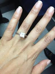 soulmate wedding ring morning america s zee engaged to colleague and