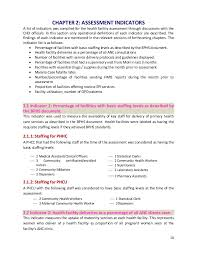 health system assessment jrc 2011