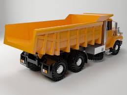 dump truck free 3d model max