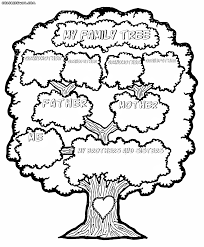 family tree coloring pages coloring pages to download and print