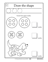 free printable preschool math worksheets word lists and
