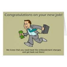 Congrats On New Job Card Funny New Job Cards Invitations Greeting U0026 Photo Cards Zazzle