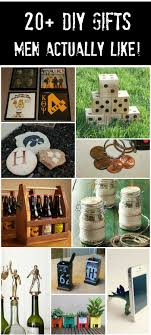 20 handmade gifts guys will actually like gift craft and