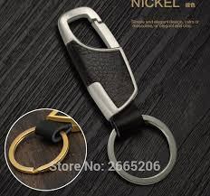 car styling fashion creative leather car keychain ornament