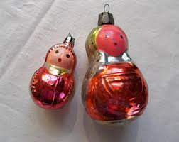 Mother Daughter Christmas Ornaments Glassy Girls Etsy