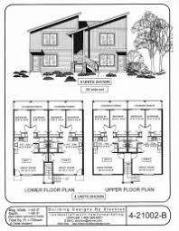 multi family home and building plans