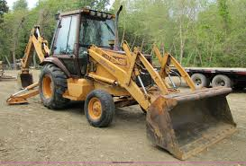 1994 case 580 super k backhoe item a4641 sold september