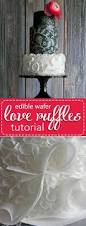Lace Cake Decorating Techniques 89 Best Wafer Paper Flowers Cakes Tutorials Images On Pinterest