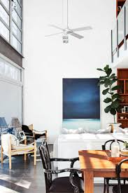 Living Designs Double Height Ceiling High Ceiling Fan Modern Dining Room Mar15