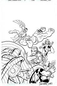 on online coloring pages marvel