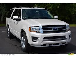 ford expedition 2017 2017 white platinum ford expedition el limited 4x4 115662000