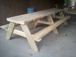 awesome 10 picnic table 10 picnic table plans myoutdoorplans free
