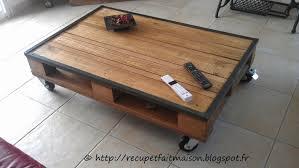 Table De Salon Industrielle by Table Basse Roulettes Pas Cher Tables à écrire Beaux Meubles Pas