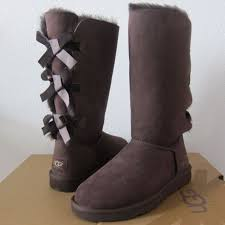 ugg bailey bow sale size 7 ugg australia womens bailey bow boots size 7 chocolate brown
