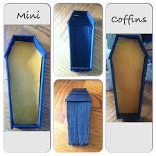 coffin mini coffin box halloween decor jewelry box office