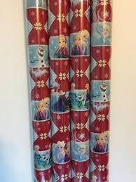 themed wrapping paper gift wrap frozen elsa olaf themed wrapping paper 1 roll