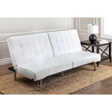 Futon Leather Sofa Bed Abbyson Jackson Ivory Leather Foldable Futon Sofa Bed Free