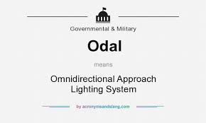 Approach Lighting System Odal Omnidirectional Approach Lighting System In Governmental