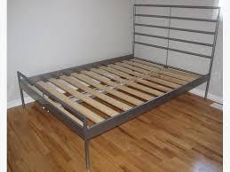 Slatted Bed Frames Sold Ikea Heimdal Size Metal Bed Frame With Slatted Bed