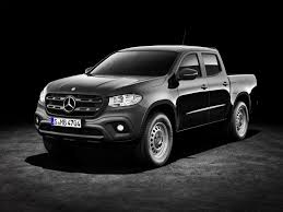 2018 mercedes benz x class can be had with steelies and a manual