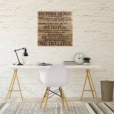 home decorative wood sign 28bghom nr the home depot