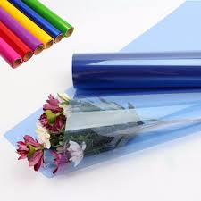 where to buy colored cellophane 100 clear plastic wrap for gift baskets tool tote gardening