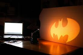 batman signal light projector make your own batsignal projector