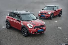 mini paceman and mini countryman bring more variety and driving