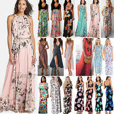 summer maxi dresses tank maxi dress ebay