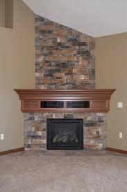 stack surround u pinteresu stack stacked stone corner fireplace