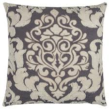 donny osmond home distressed damask 20 in x 20 in ivory