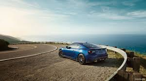subaru sports car brz 2015 2015 subaru brz series blue rear hd wallpaper 1 1920x1080