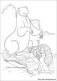 121 disney brave coloring pages disney images