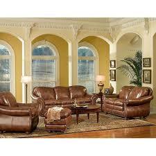 4 piece pecan living room set nebraska furniture mart color