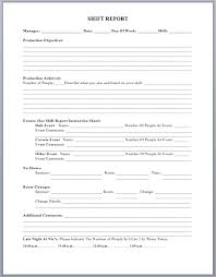 Shift Report Sheet Template Project Status Report Template Microsoft Word Templates