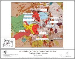 Washington State Geologic Map by Obsidian Source Maps United States