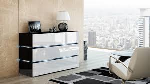kommode weiãÿ hochglanz design kaufexpert kommode shine sideboard 120 cm weiß hochglanz schwarz