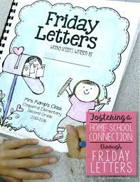 fostering the home connection through friday letters
