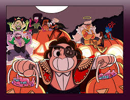 Happy Halloween Animated Happy Halloween Steven Universe Know Your Meme