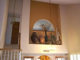 Lovely Recessed Wall Niche Decorating Ideas Fireplace Niche