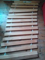 lade wood slatted single bed base ikea sultan lade in redhill surrey