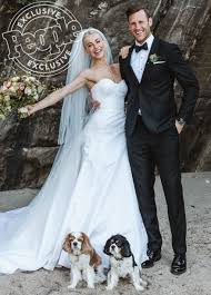 Celebrity Brides Who Wore Unconventional by Julianne Hough Is Married The Dwts Judge Weds Nhl Star Brooks