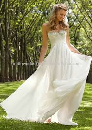 flowing wedding dresses designer superior flowing chiffon wedding dress in wedding