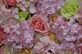 premuim silk flower wall hire floral rose wall wedding stage