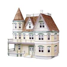 Queen Anne Floor Plans by Queen Anne Dollhouse Kit The Ultimate Dollhouse Dream House